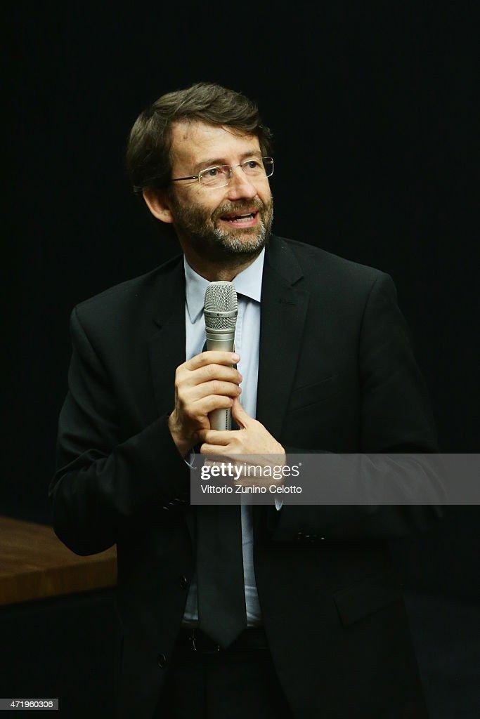 Fondazione Prada Press Conference, Milan May 2nd