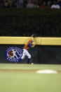 Dario Pizzano of Saugus Massachusetts is unable to hang on to the ball against Boynton Beach Florida during the Little League World Series on August...