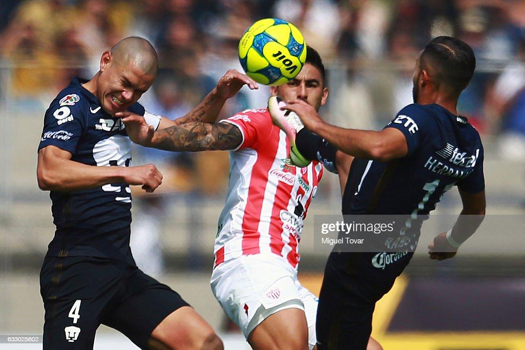 Pumas UNAM v Necaxa - Torneo Clausura 2017 Liga MX