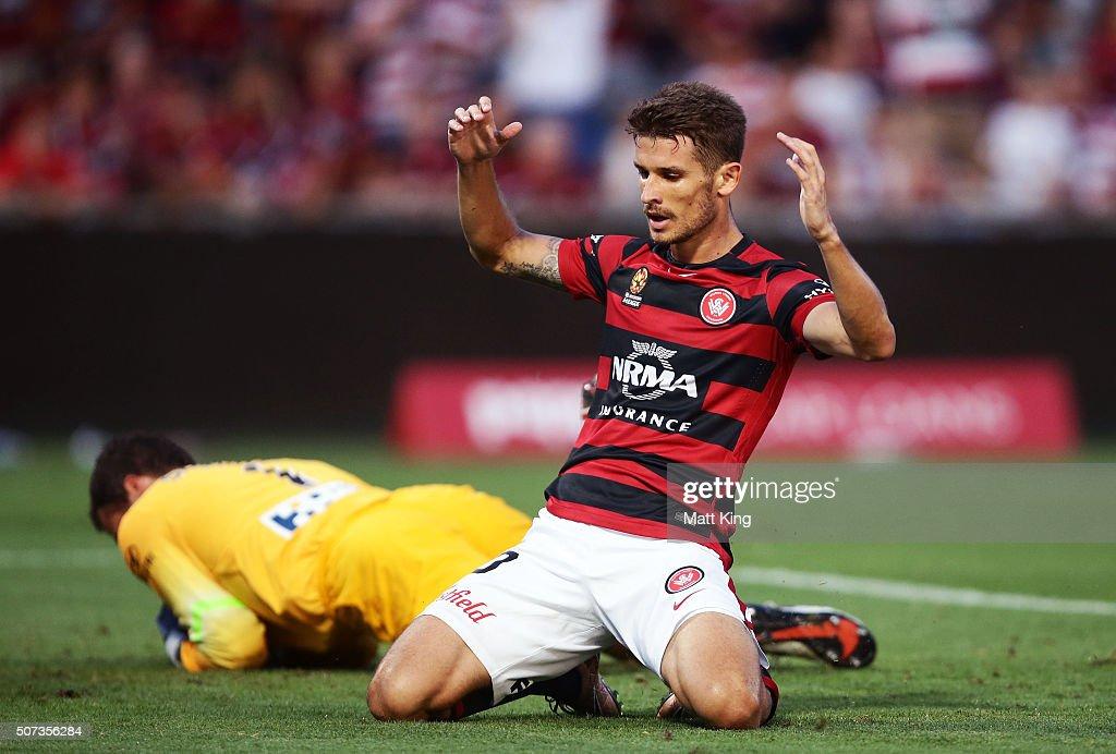 A-League Rd 17 - Western Sydney v Melbourne