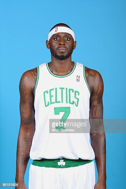 Darius Miles of the Boston Celtics poses for a portrait during NBA Media day on September 29 2008 at the Sports Authority Training Center in Waltham...