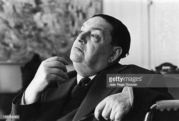 Darius Milhaud French composer 1962