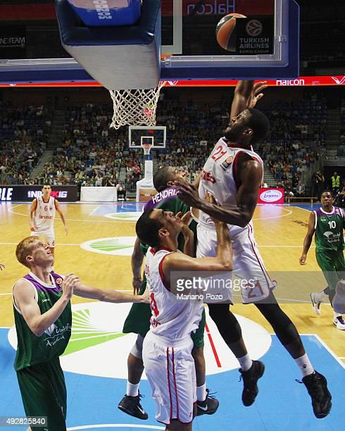 Darius Miller #21 of Brose Baskets Bamberg during the Turkish Airlines Euroleague Basketball Regular Season Date 1 game Unicaja Malaga v Brose...