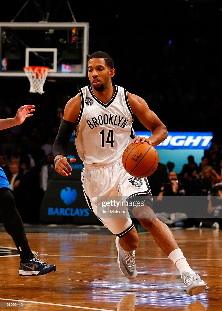 Darius Morris of the Brooklyn Nets in action against the Dallas Mavericks at Barclays Center on January 5 2015 in the Brooklyn borough of New York...
