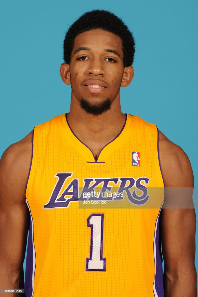Darius Morris of the Los Angeles Lakers poses for a photo during Media Day at Toyota Sports Center on December 11 2011 in El Segundo California NOTE...