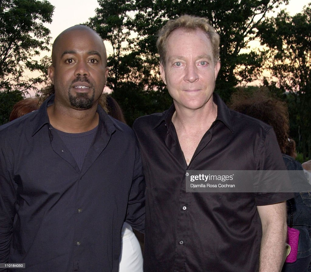 Darius Rucker and Fred Schneider during Darius Rucker and Fred Schneider Attend VH1 Save The Music Foundation Benefit for Music Education in Public...