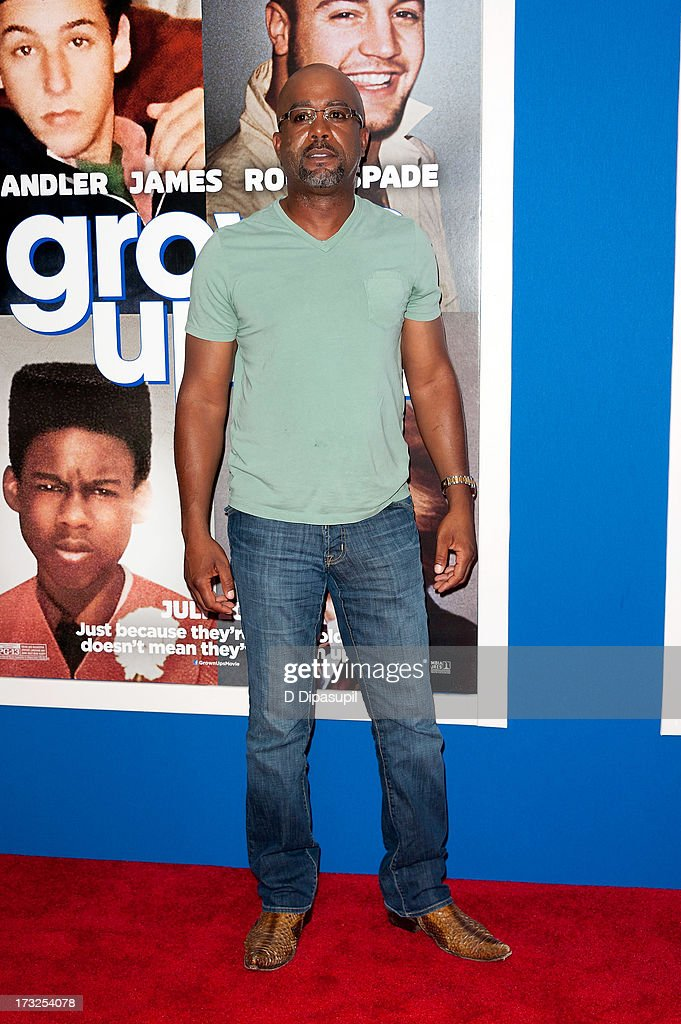 Darius Rucker attends the 'Grown Ups 2' New York Premiere at AMC Lincoln Square Theater on July 10, 2013 in New York City.