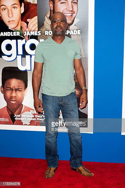 Darius Rucker attends the 'Grown Ups 2' New York Premiere at AMC Lincoln Square Theater on July 10 2013 in New York City
