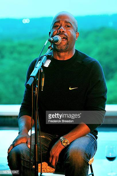 Darius Rucker performs at Husk On The Hill at a Private Residence on May 2 2013 in Nashville Tennessee