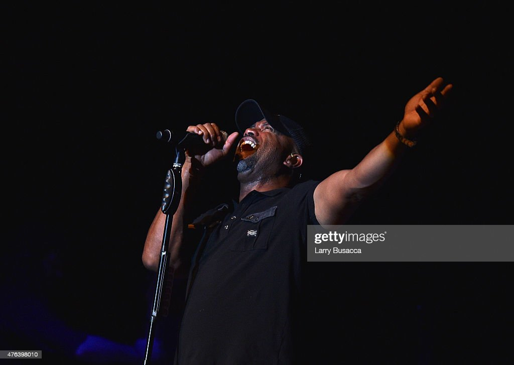 Darius Rucker performs at the 6th Annual 'Darius And Friends' Concert at Wildhorse Saloon on June 8 2015 in Nashville Tennessee