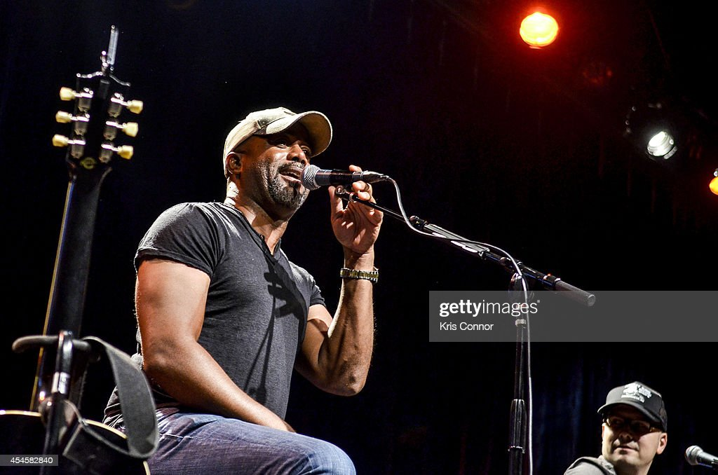 Darius Rucker performs during the 10th Anniversary CMA Songwriter Series Show at Best Buy Theater on September 3 2014 in New York City