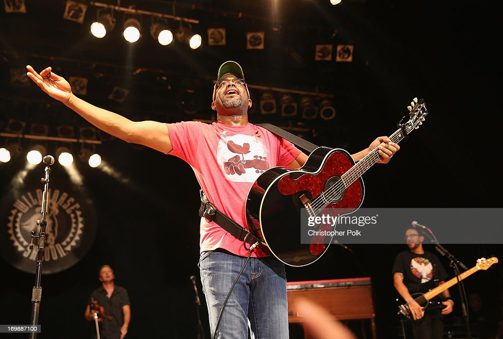 Darius Rucker performs during the 4th annual Darius and Friends concert at Wildhorse Saloon on June 3 2013 in Nashville Tennessee