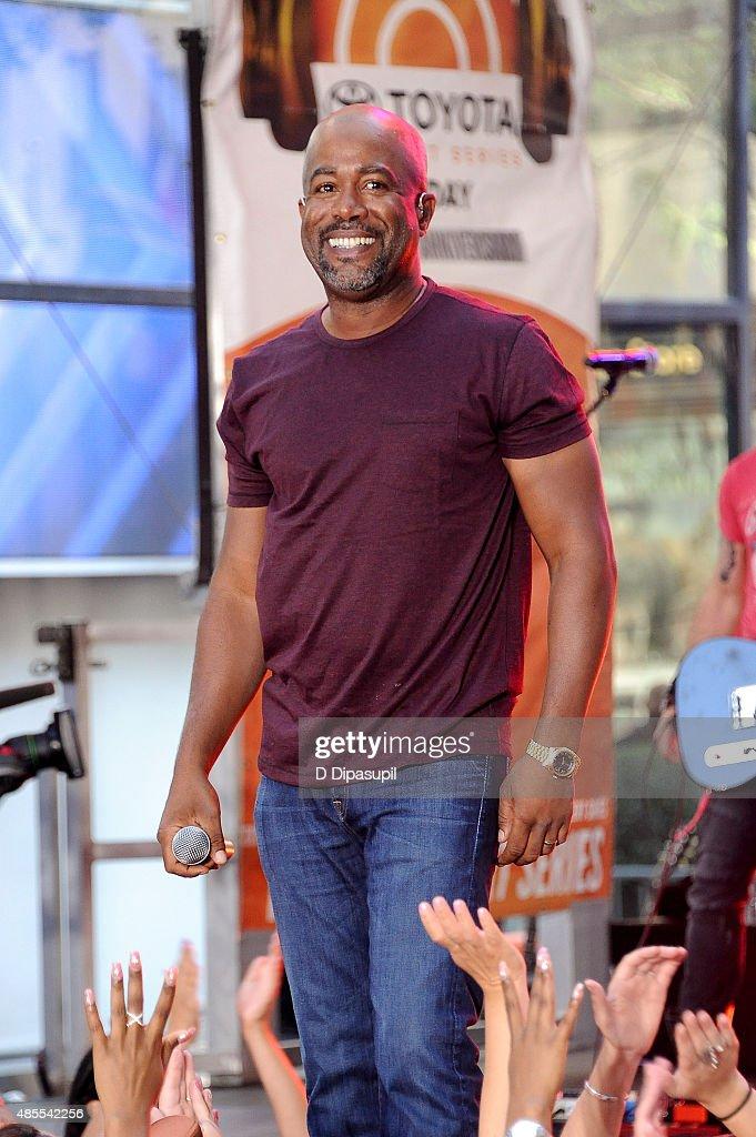 "Darius Rucker Performs On NBC's ""Today"""