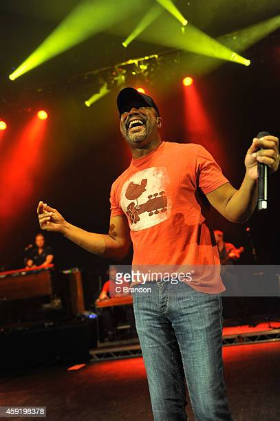 Darius Rucker performs on stage at Shepherds Bush Empire on November 18 2014 in London United Kingdom
