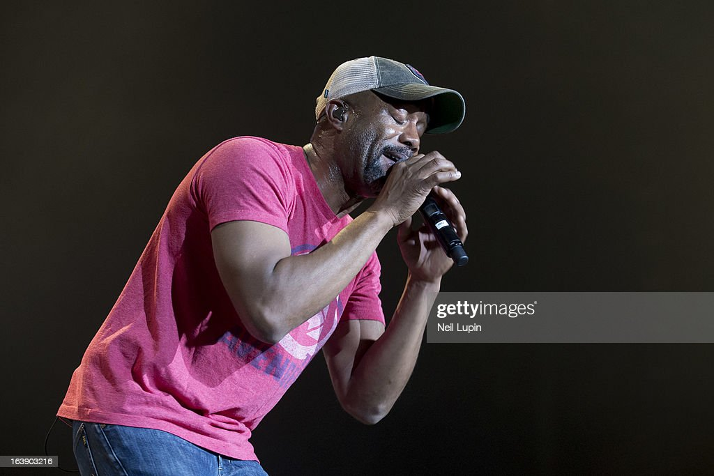 Darius Rucker performs on stage on Day 2 of C2C: Country To Country Festival 2013 at O2 Arena on March 17, 2013 in London, England.