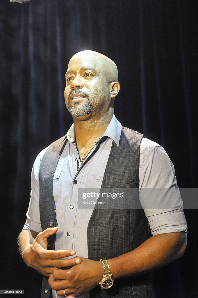Darius Rucker speaks during the 48th Annual CMA Awards Nominees Announcement at Best Buy Theater on September 3, 2014 in New York City.