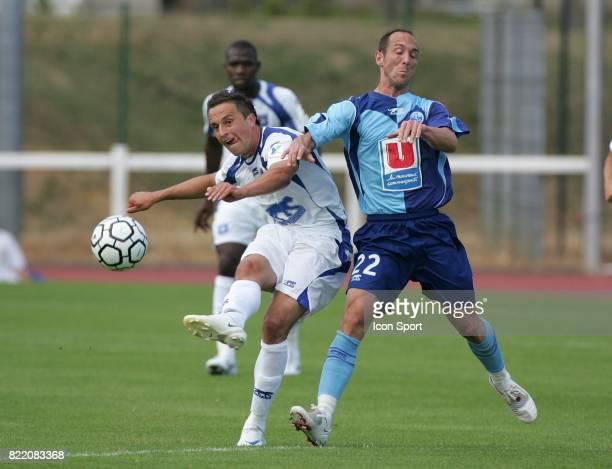 Dariusz DUDKA / JeanMichel LESAGE Auxerre / Le Havre 11a Fontainebleau Match amical Ligue 1