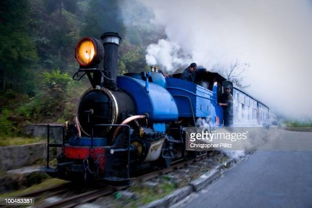 Darjeeling Himalayan railway heading to Siliguri