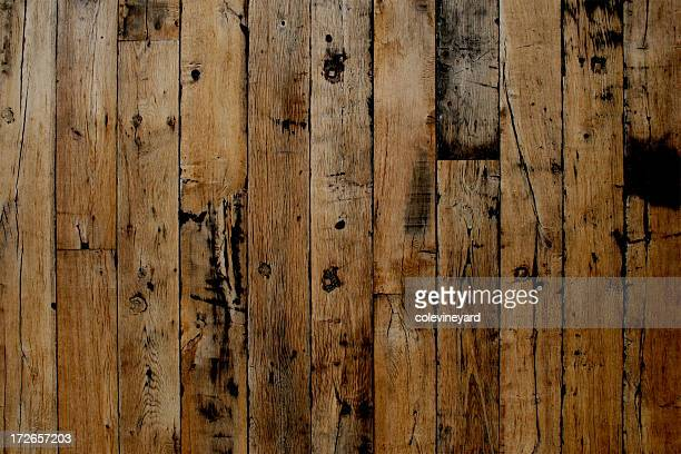 Dark and light plank wood flooring background