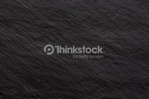 Dark black slate background or texture : Stock Photo
