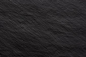 Dark black stone texture background for design