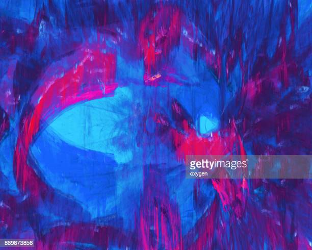 Dark Blue and Pink abstract background