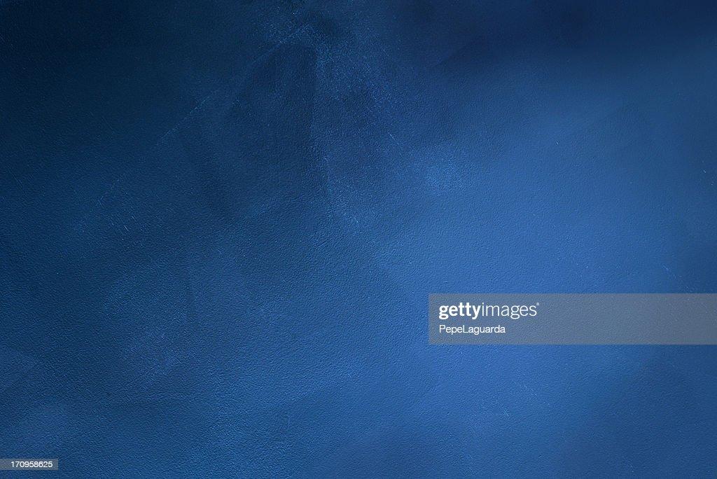 Fond grunge bleu foncé : Photo