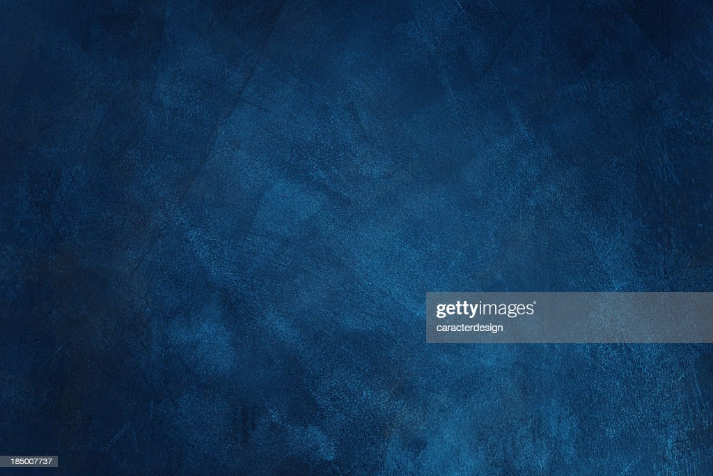 Dark blue grunge background : Stock Photo