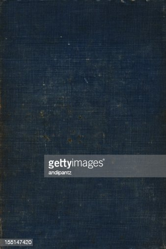 Dark blue linen background