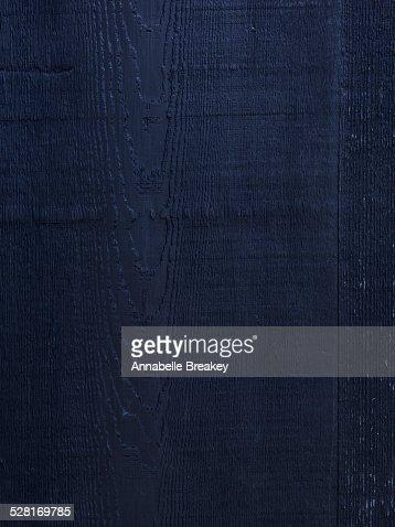 Dark Blue Woodgrain Background