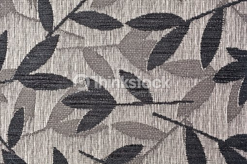 Dark Brown Fabric Texture For Background Stock Photo