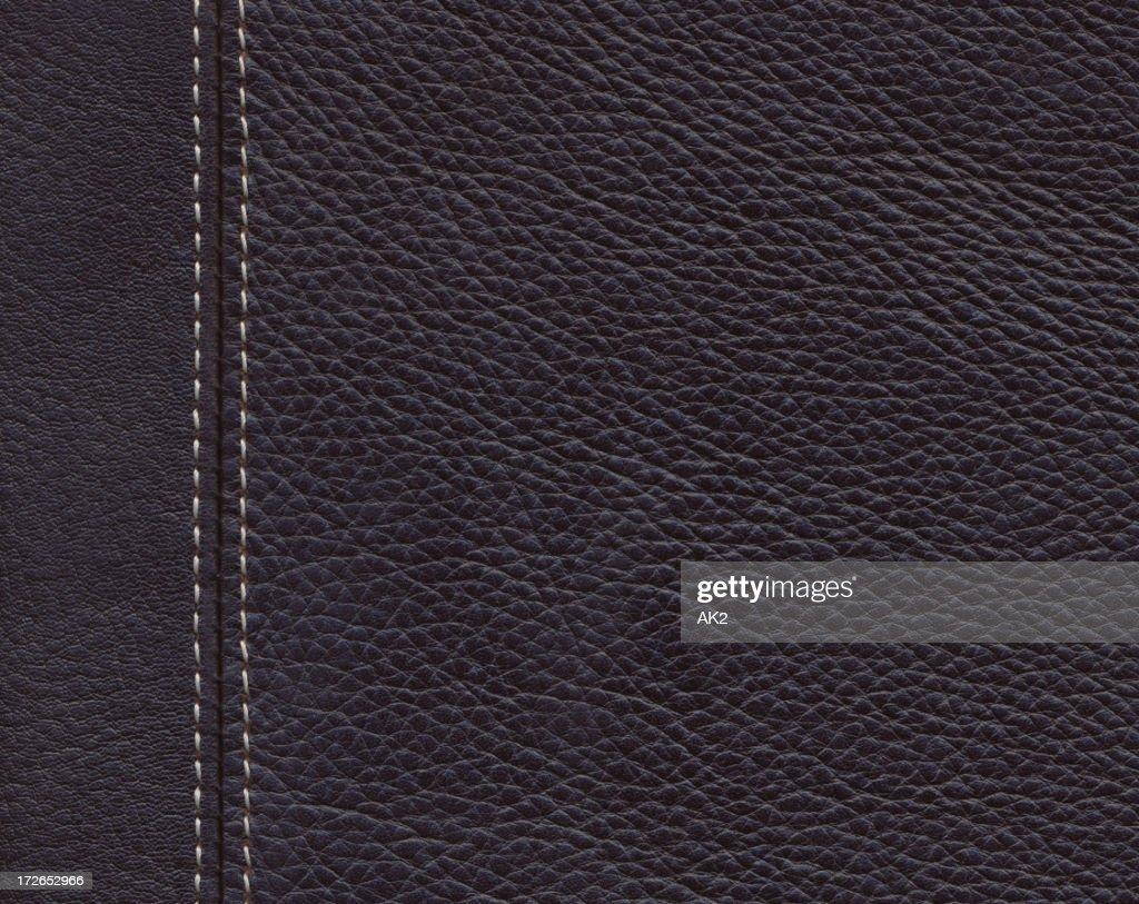 XXL Dark brown leather