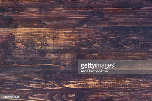 Dark brown wooden background with high resolution. Copy space : Stock Photo