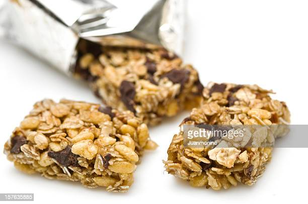 Dark chocolate almond granola bar