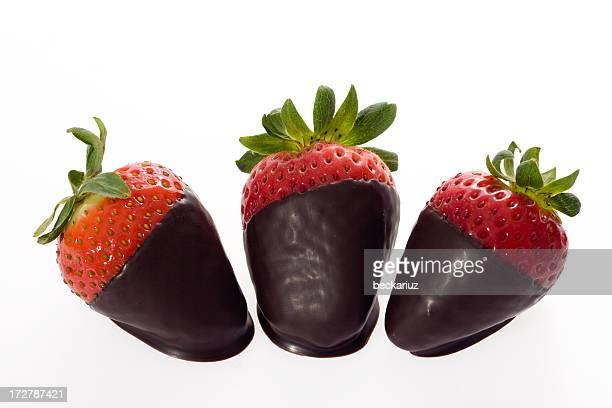 Dark Chocolate Covered Strawberry