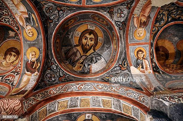 Dark Church, Goreme, Cappadocia, Turkey