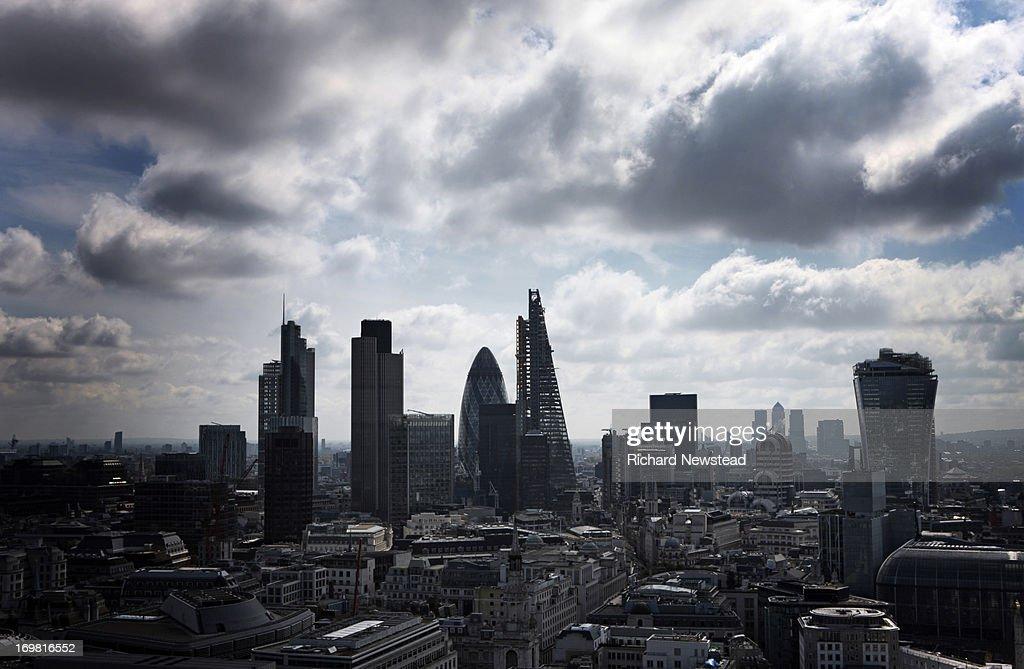 Dark City : Stock Photo