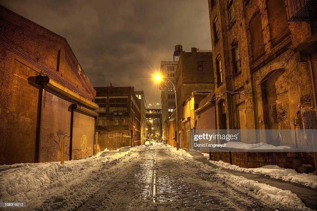 Dark City Street