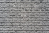 Dark gray stone wall, background, texture. Old dark gray brick wall texture background