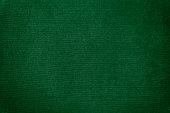 Dark green velvet texture background. Green velvet fabric