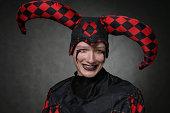Dark harlequin