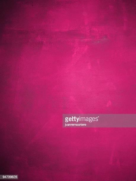 ダークピンクの壁