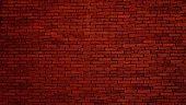 Dark red brick wall texture background