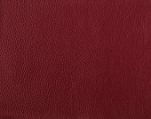 Dark red leather sample