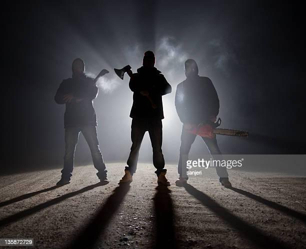 Dunkle Straßenrand killers