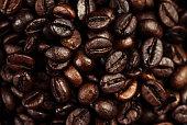 Dark Roasted Black Coffee Beans
