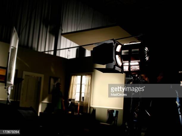 Dark television production