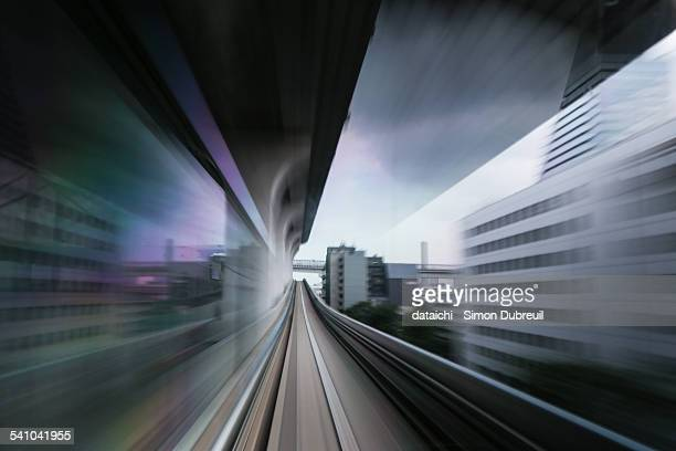 Dark Tokyo high speed