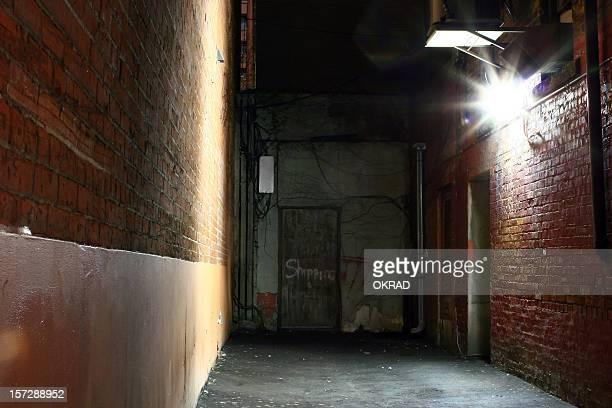 Dark Urban Alley Wallpaper  Background