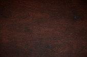 Dark wood pattern texture background. Wooden brown board surface